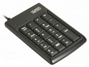 Клавиатура Sweex KP002 Portable Keypad and 2 Port HUB Black USB