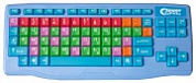 Клавиатура Clever Toys Wireless keyboard Blue USB