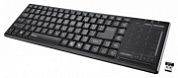 Клавиатура Trust Tacto Wireless Entertainment Keyboard with Touchpad Black USB