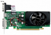 Видеокарта Leadtek GeForce 210 589 МГц PCI-E 2.0 GDDR2 1000 МГц 512 Мб 64 бит