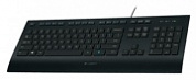 Клавиатуры logitech corded keyboard k280e black usb usb