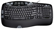 Клавиатура Logitech Wave Keyboard Black USB USB