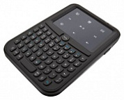 Клавиатура Trust Handheld Wireless Keyboard & Touchpad Black USB