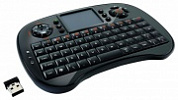 Клавиатура Trust Tocamy Wireless Entertainment Keyboard Black USB